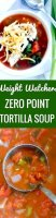 Tortilla soup recipe like qdoba calories