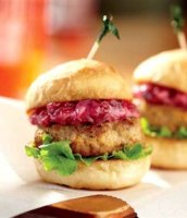 Turkey sliders with cranberry mayo recipe