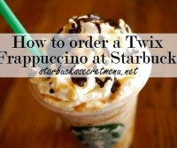 Twix frappe recipe starbucks scones