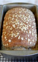 Ukrainian multi grain homemade bread recipe