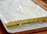 Vanilla sheet cake recipe from scratch