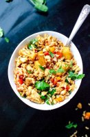 Veg thai fried rice recipe