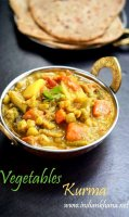 Vegetable curry recipe without coconut milk