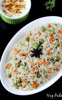Vegetable pulao recipe with pictures