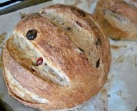 Walnut and cranberry bread recipe