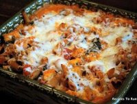Weight watchers chicken pasta bake recipe