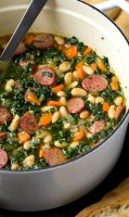 White bean and kale soup recipe with sausage