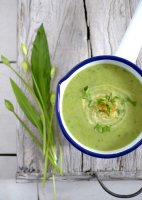 Wild garlic soup recipe uk