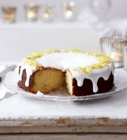 Woman and home lemon drizzle cake recipe