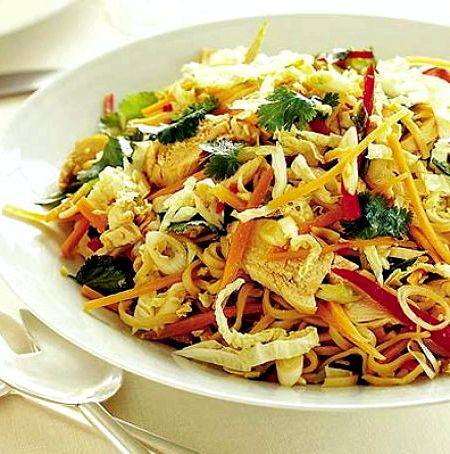 Vermicelli salad recipe thai fried