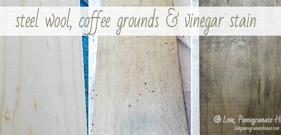 Vinegar Steel Wool Stain Recipe