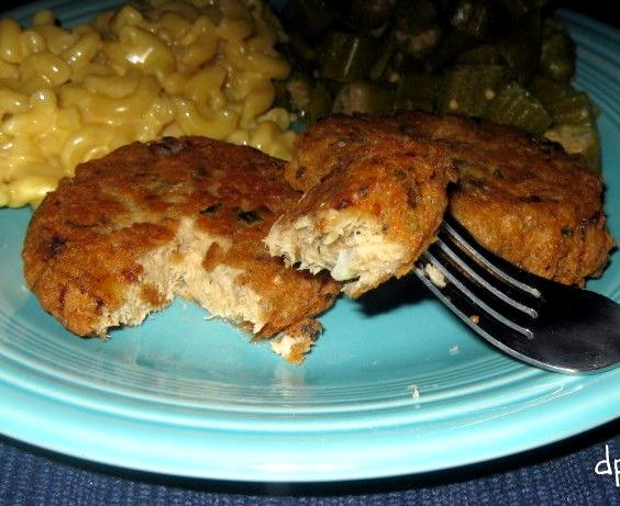Salmon Cakes With Spicy Sauce Recipe
