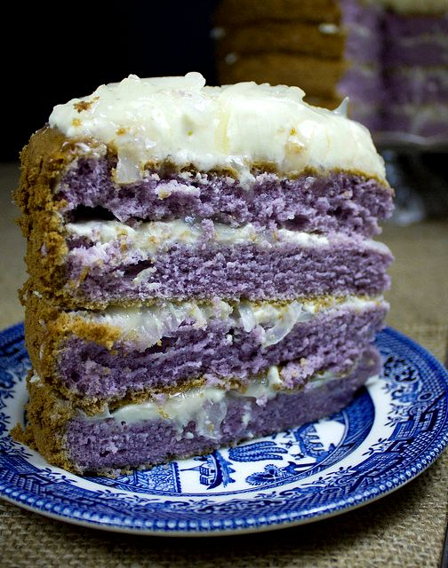 Yam ice cream cake recipe