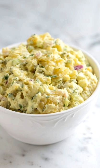 Yellow potato salad recipe easy